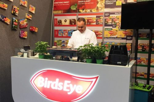 First Exhibition Services Birdseye Stand