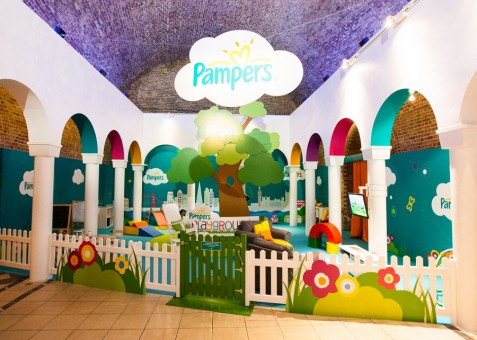 First Exhibition Services London Olympics 2012 Pampers Case Study