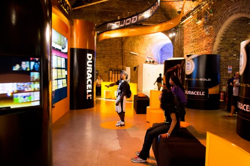 First Exhibition Services London Olympics 2012 Duracell Batteries Case Study