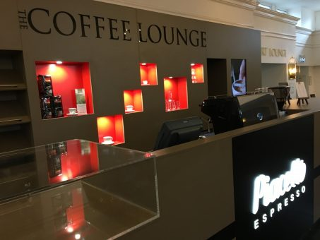 Hilton coffee lounge