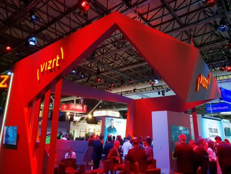 Vizrt stand in IBC 2018 Amsterdam